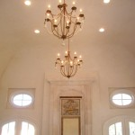 Large Radius Cove Ceiling Design in Greate Room