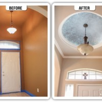 Ceiling Domes Before and After