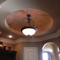 Hallway Ceiling Domes