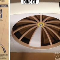 Drywall Ceiling Dome with Eas