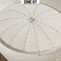Drywalling a Ceiling Dome