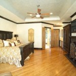Master Suite Cove Tray Ceiling Design