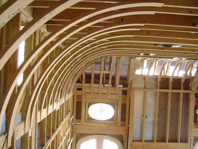 Vaulted Ceiling Crown Molding Home Design Idea