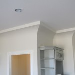 Kitchen Cove Ceiling with Top Reveal