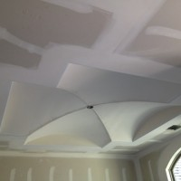 Dining Room Groined Vault Drywalled