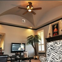 Family Room Groined Vault Ceiling