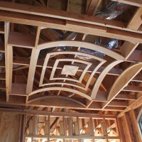 Dining Room Groined Vault Framing