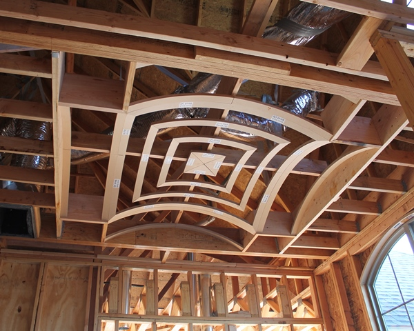 dining room groined vault framing - How To Vault A Ceiling