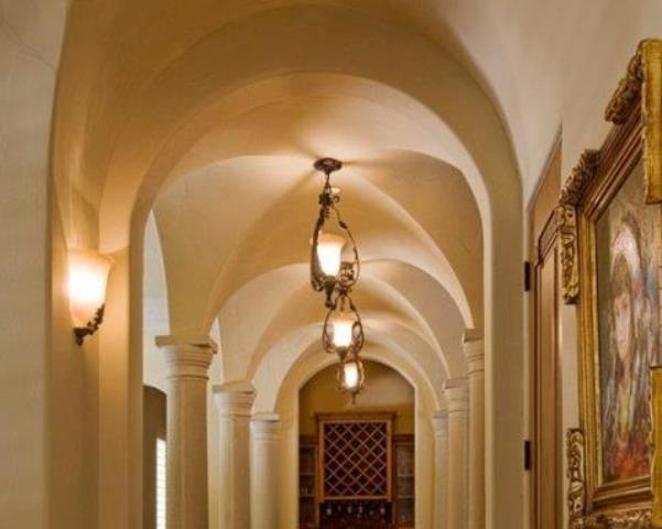 Gallery Groin Vault Ceiling