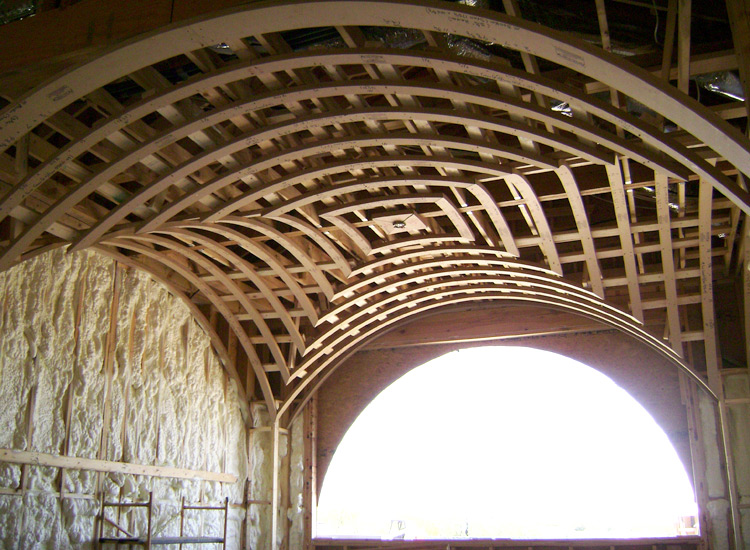 attic room ideas pinterest - Groin Vaults